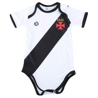 Body Infantil Torcida Baby Vasco da Gama Proteção Solar FPU 50+