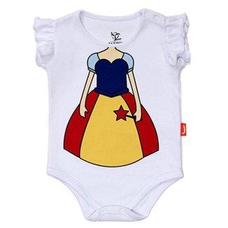 Body Jokenpô Bebê Fada com Faixa Feminino