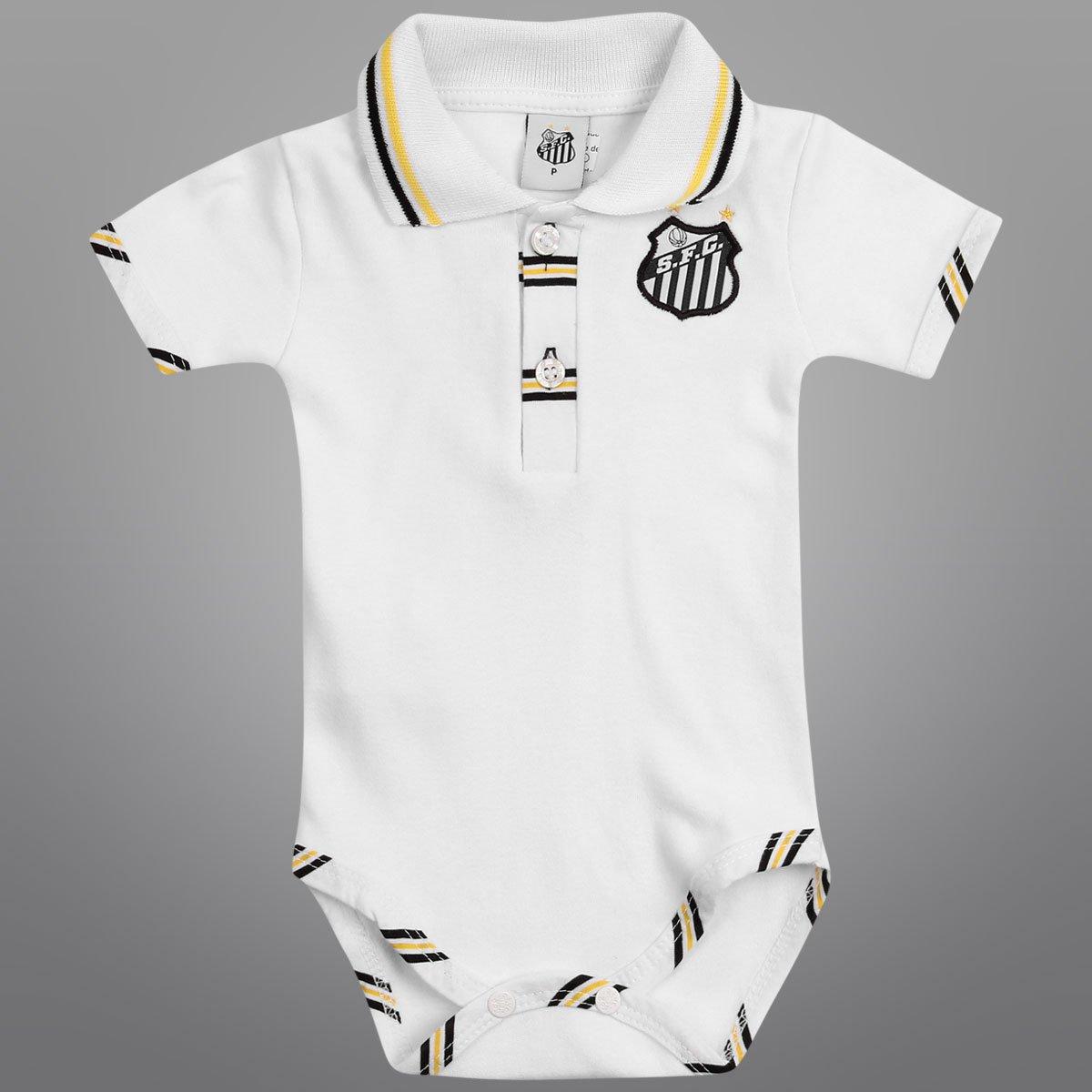 Body Suedine Santos Branco Infantil Branco Body Body Santos Infantil Suedine Z6AwngxS