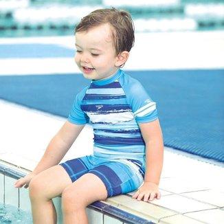 Body Speedo Raglan Stripes Infantil