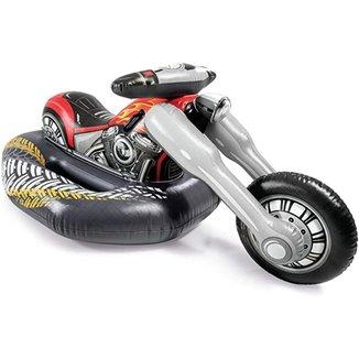 Boia Bote Infantil Inflável Intex Gigante Motor Bike