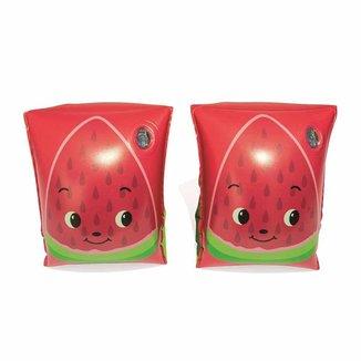 Boia de Braço infantil Bestway colorido Frutas Morango