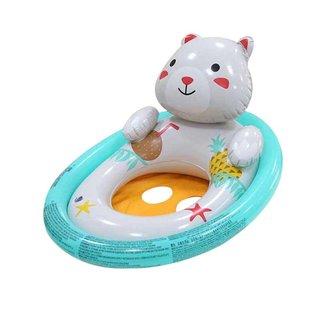Boia para bebês de 1 a 3 anos Bestway com encaixe para as pernas em formato de animais Urso