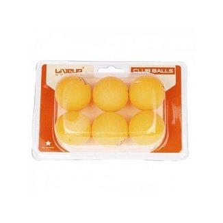 Bola 2 Estrelas De Tênis De Mesa Ping Pong 6 Unidades Liveup