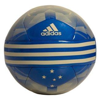 Bola Adidas de Futebol Campo Cruzeiro - Azul e Dourado