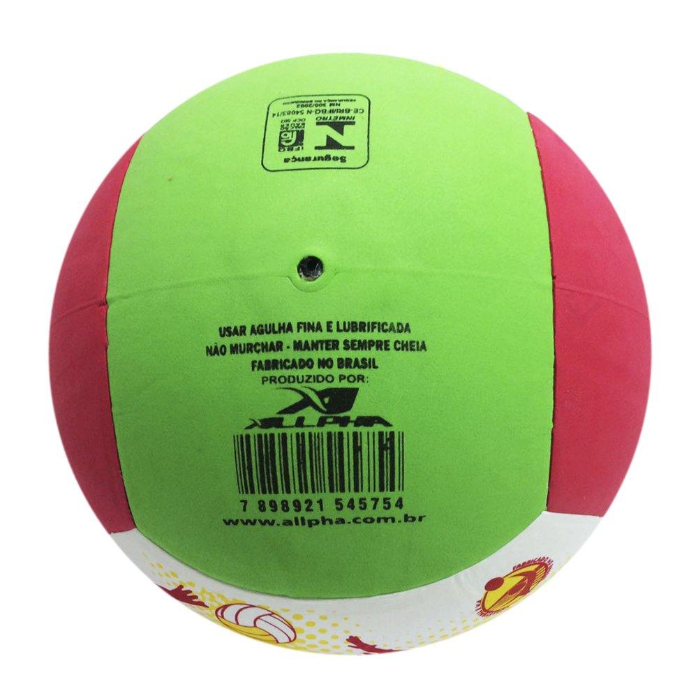 97940f2550 Bola Allpha Vôlei EVA - Colorido - Compre Agora