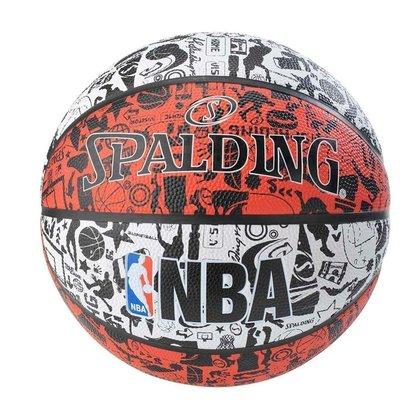 Bola Basket Spalding Nba Graffiti