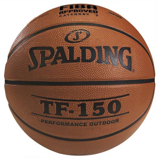 Bola Basquete FIBA Spalding TF-150 Performance Outdoor Tam. 7 - Laranja