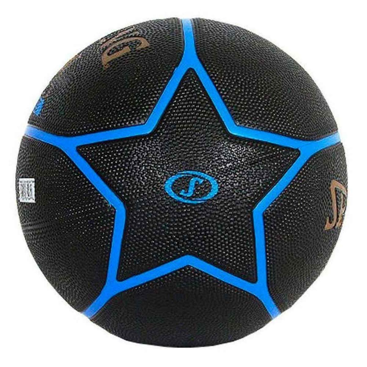 Bola Basquete Spalding Highlight - Preto e Azul - Compre Agora ... d31b46a2106d6