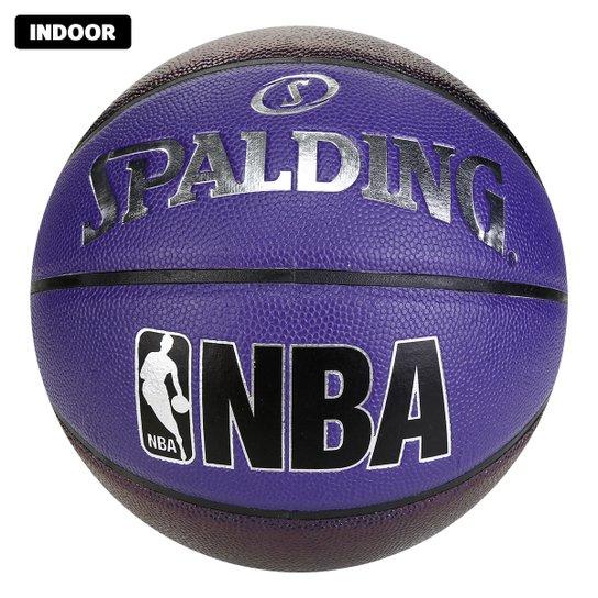 Bola de Basquete Spalding NBA Pearl Indoor/Outdoor - Roxo