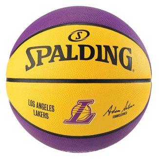 Bola de Basquete Spalding  Time NBA LA Lakers -  Borracha