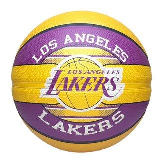 Bola de Basquete Spalding Time NBA Los Angeles Lakers