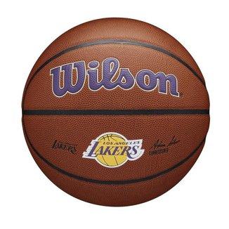 Bola De Basquete Wilson Los Angeles Lakers NBA Alliance