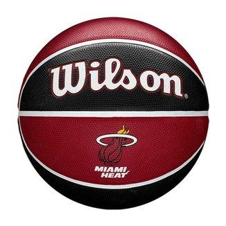 Bola de Basquete Wilson Miami Heat NBA Team Tribute #7