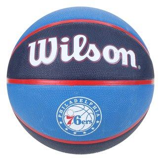 Bola de Basquete Wilson NBA Philadelphia 76Ers Team Tribute  #7