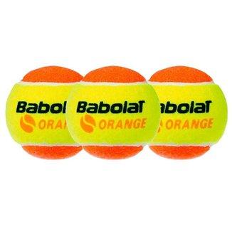 Bola De Beach Tennis Babolat Orange Pacote Com 03 Bolas