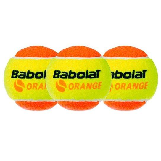 Bola De Beach Tennis Babolat Orange Pacote Com 03 Bolas - Laranja