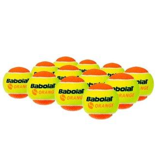 Bola De Beach Tennis Babolat Orange Pacote Com 12 Bolas