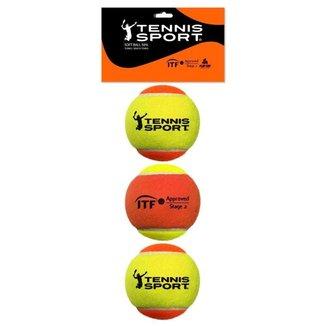 Bola de Beach Tennis PRO Tennis Sport (Pack com 3 unidades)