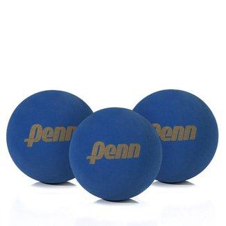 Bola de Frescobol Penn Azul - Pacote com 3 Unidades