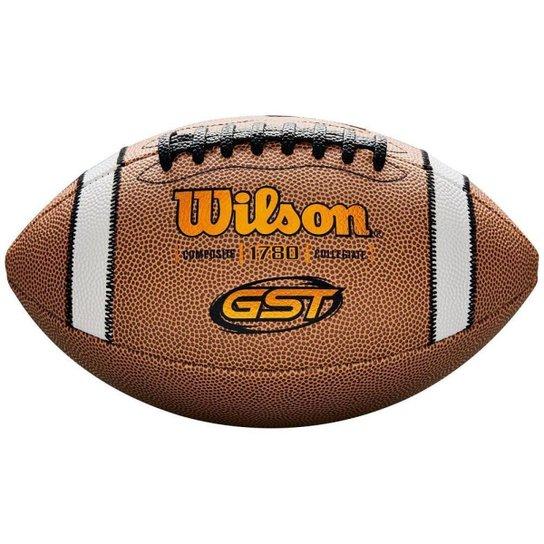 Bola De Futebol Americano Gst Composite - Bege