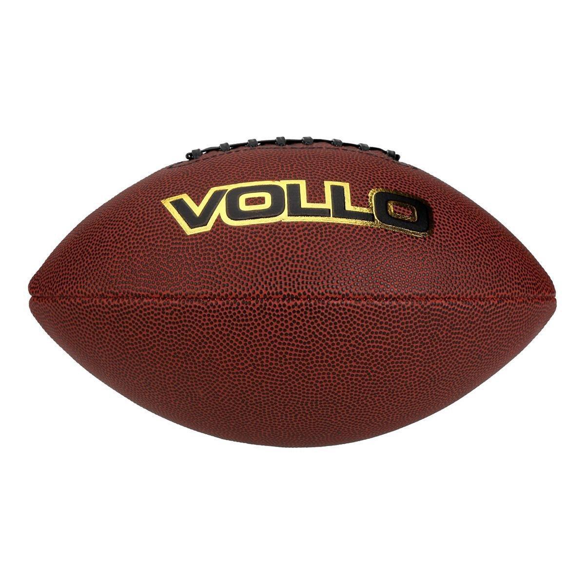 Bola De Futebol Americano Vollo 9 - Marrom - Compre Agora  e6a4deb7833f6