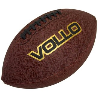 Bola de Futebol Americano VOLLO VF001 PVC Marrom
