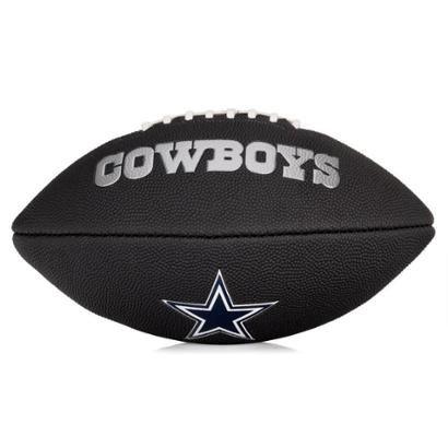 Bola de Futebol Americano Wilson NFL Team Jr Dallas Cowboys Edition Black