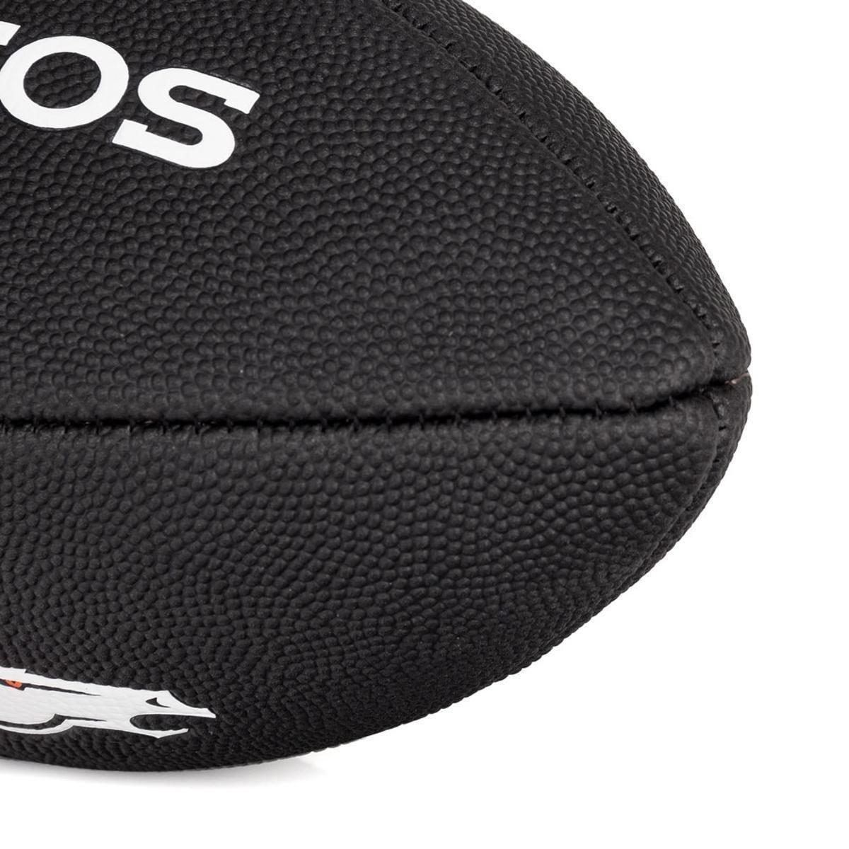 68cbfcac0d ... Bola de Futebol Americano Wilson NFL Team Jr Denver Broncos Edition  Black ...