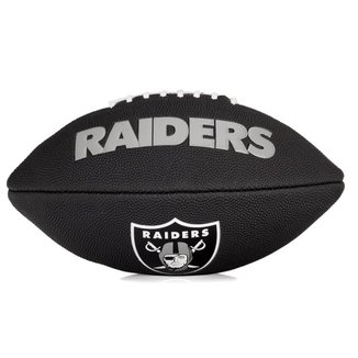 Bola de Futebol Americano Wilson NFL Team Jr Oakland Raiders Edition Black