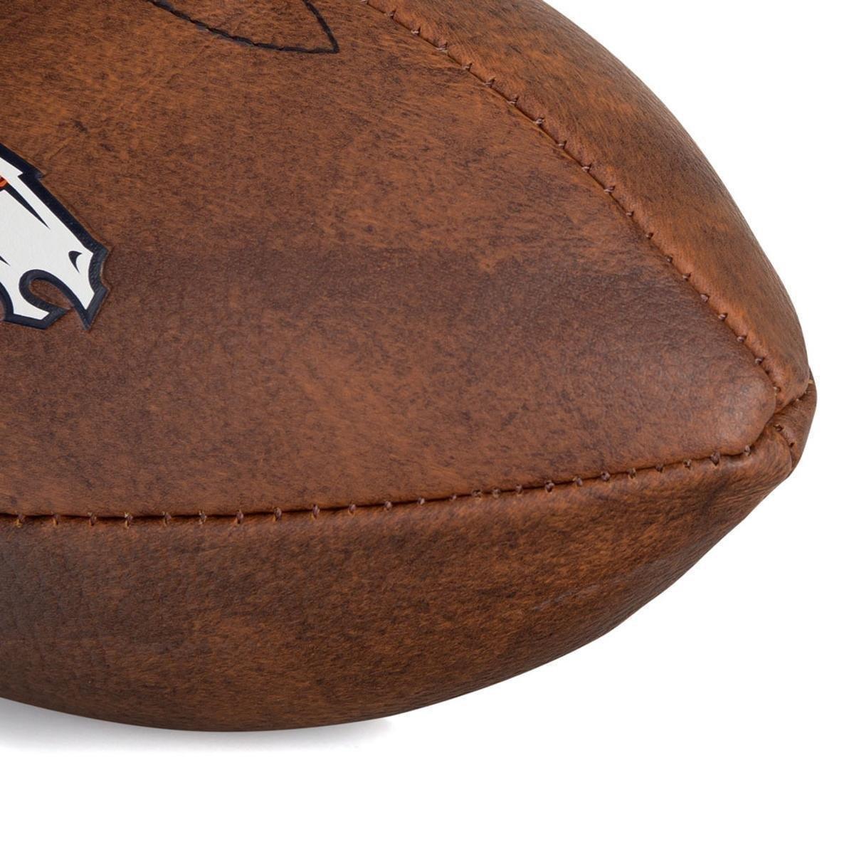 e38c1d612f ... Bola de Futebol Americano Wilson Throwback NFL Jr. Denver Broncos ...