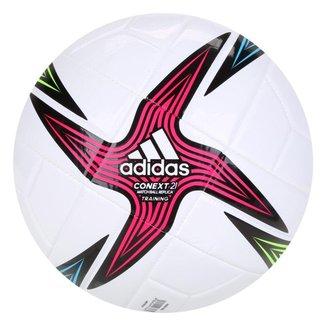 Bola de Futebol Campo Adidas Fifa Conext 21 Training - Branco+Preto - Único