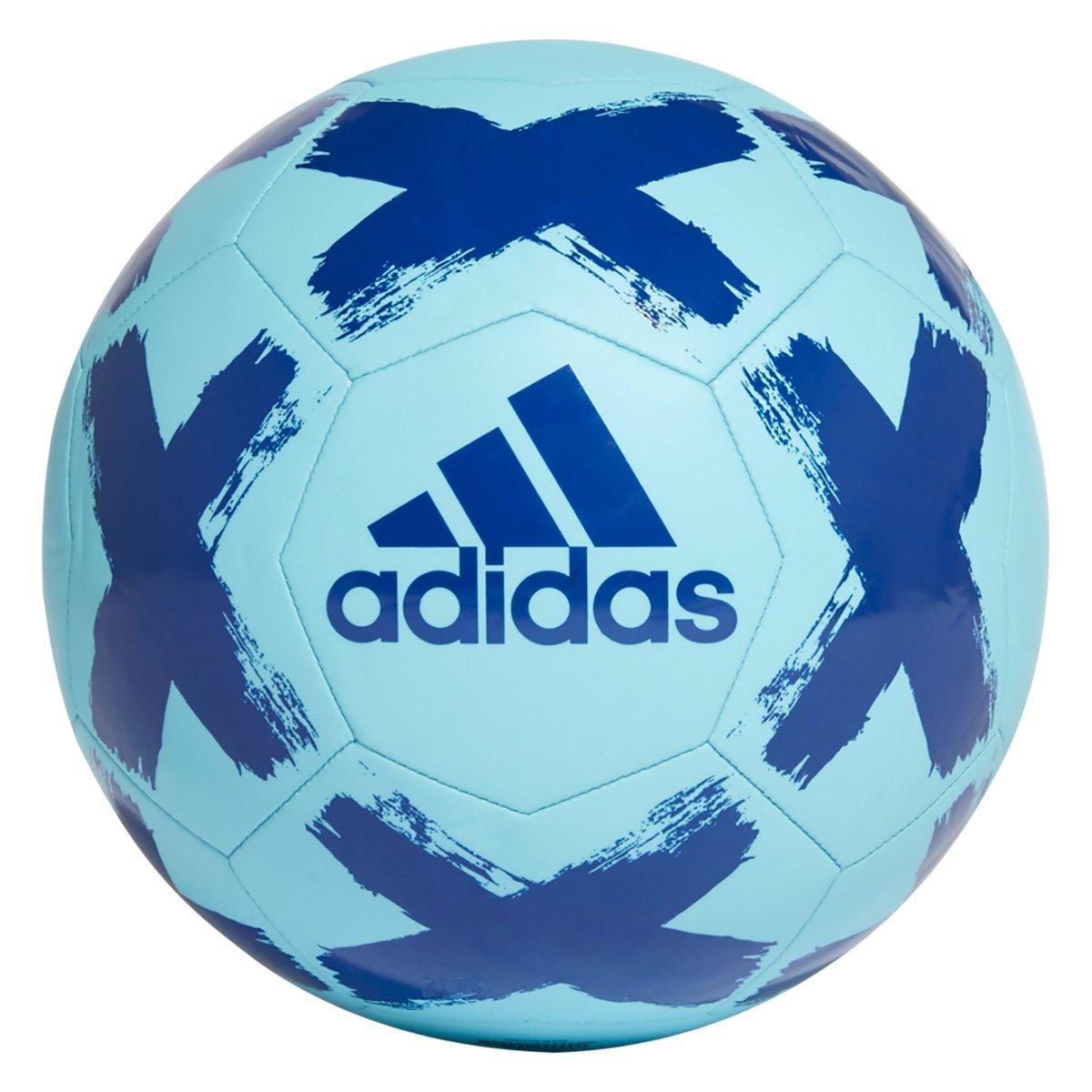 Bola de Futebol Campo Adidas Starlancer Club - Azul