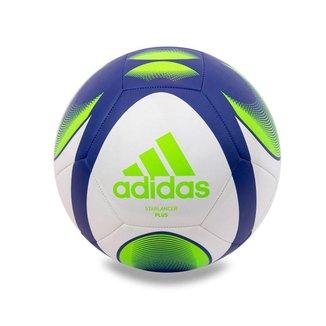 Bola De Futebol Campo Adidas Starlancer Plus - Branco+azul Royal