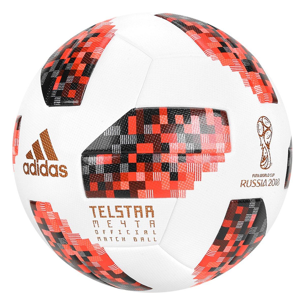 3cfc208f837c5 Bola de Futebol Campo Adidas Telstar 18 Official Mata-Mata Copa do Mundo  FIFA - Compre Agora