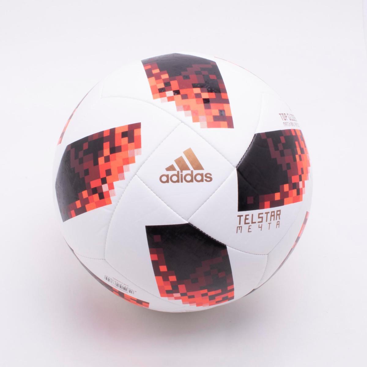5a8ebf0f79fc8 Bola de Futebol Campo Adidas Telstar 18 Top Glider Réplica Mata-Mata Copa  do Mundo FIFA - Branco e Vermelho - Compre Agora