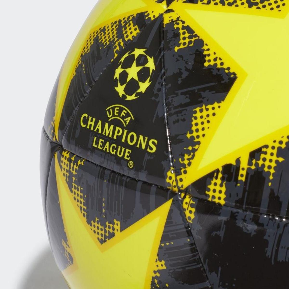 65f32d461e Bola de Futebol Campo Juventus Adidas Capitano Finale 18 UCL ...