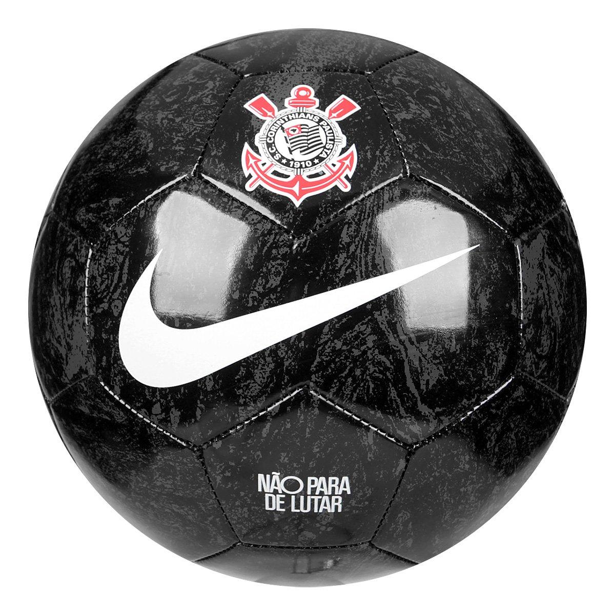 db52d8543612b Bola de Futebol Campo Nike Corinthians - Preto e Branco - Compre Agora