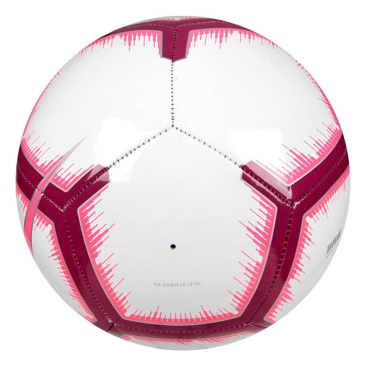 Bola de Futebol Campo Nike La Liga Pitch - Branco e Vermelho ... 67aaad3199faf