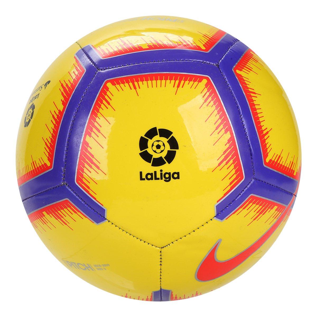 4bd518ede3 Bola de Futebol Campo Nike La Liga Pitch - Amarelo - Compre Agora ...