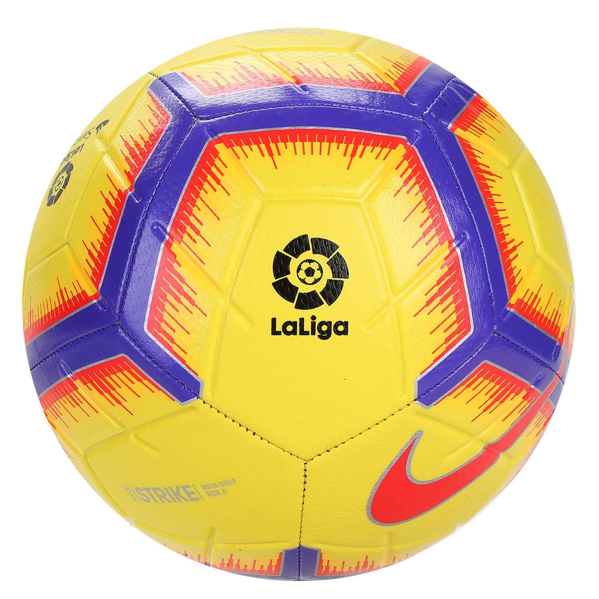 2431a865f6 Bola de Futebol Campo Nike La Liga Strike - Amarelo - Compre Agora ...
