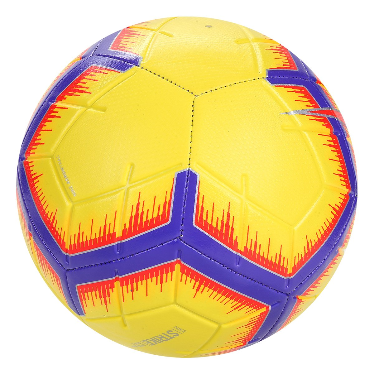 8c318d766e Bola de Futebol Campo Nike La Liga Strike - Amarelo - Compre Agora ...