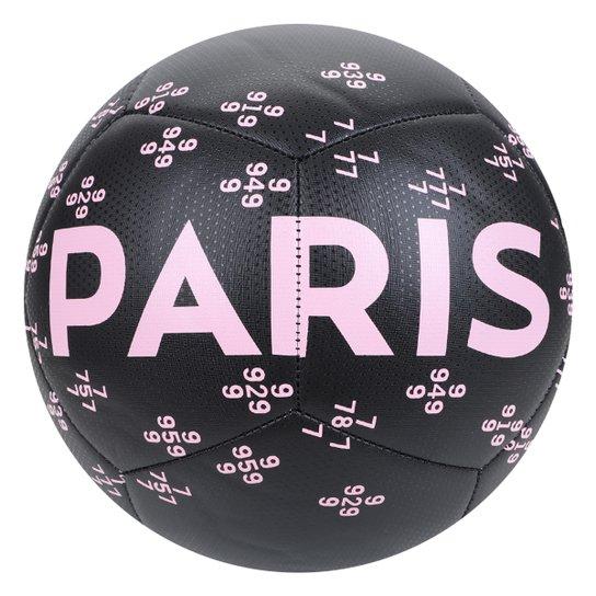 Bola de Futebol Campo Nike Paris Saint-Germain Pitch - Preto+Branco