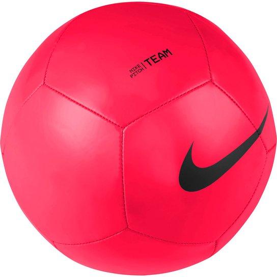 Bola de Futebol Campo Nike Pitch Team - Rosa