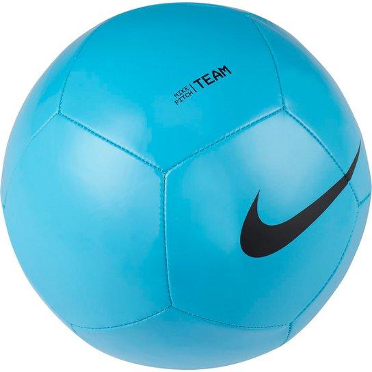Bola de Futebol Campo Nike Pitch Team - Azul+Preto