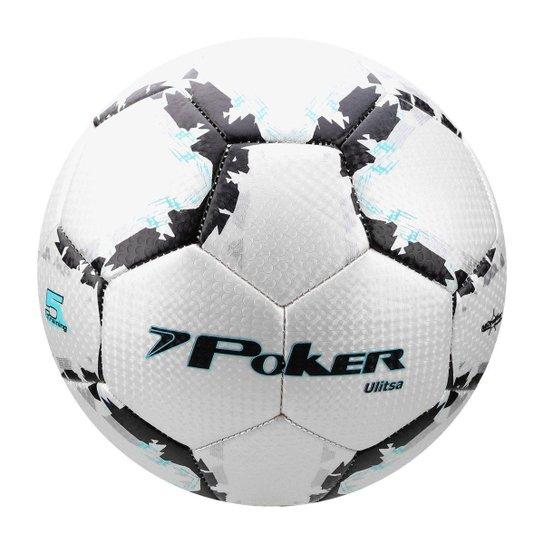 Bola De Futebol Campo Poker Training 32 Gomos Preto Prata Netshoes