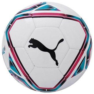 Bola de Futebol Campo Puma Team Final - Branco e Rosa