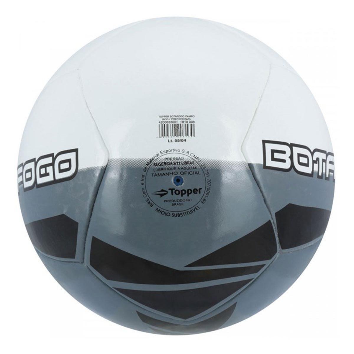 Bola de Futebol Campo Topper Botafogo - Compre Agora  3a02bf235e764