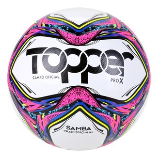 Bola de Futebol Campo Topper Samba Pró X