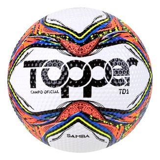 Bola de Futebol Campo Topper Samba TD 1